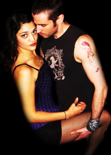 Maria Isa and Harley Wood in Rent. Photo courtesy Cardinal Theatricals.