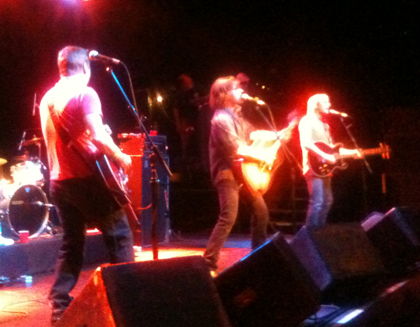 Old 97's. Below: Those Darlins.