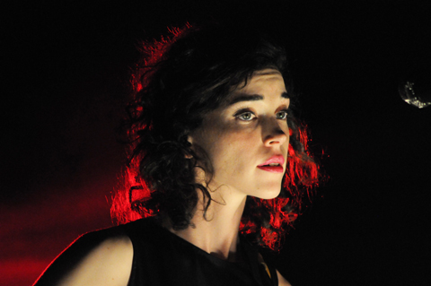 St. Vincent. Photos by Jay Gabler.