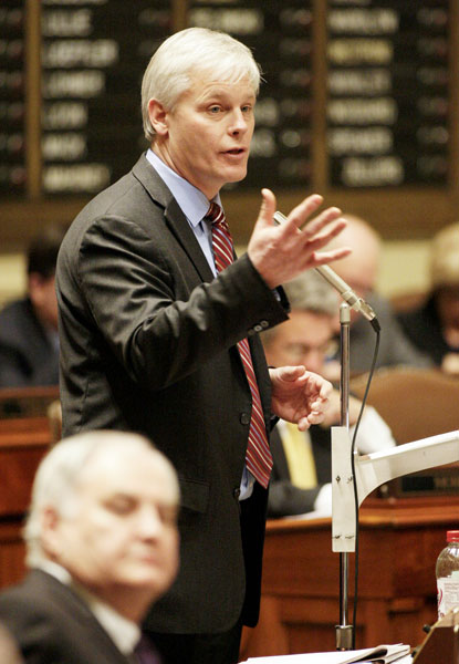 House Minority Leader Paul Thissen (Photo courtesy of Session Daily)