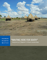 Human Rights Watch report documents the massive forced relocation of indigenous peoples
