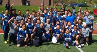 Termination X players and Minneapolis Hmong police celebrate victory over Saint Paul FSU