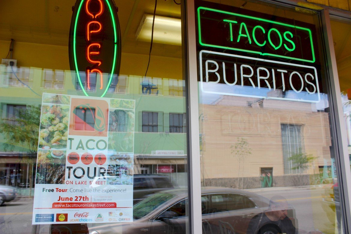 The Second Annual Taco Tour On Lake Street Brought At Least 2 500 3 000 To Nine Latino Restaurants Along One Of Most Diverse Streets In