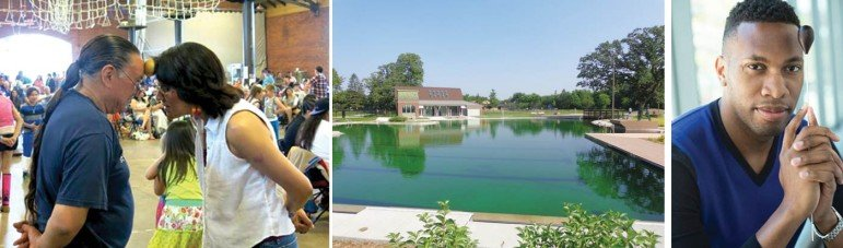 A Minneapolis powwow, a new North Minneapolis natural swimming pool, and Roderick Cox