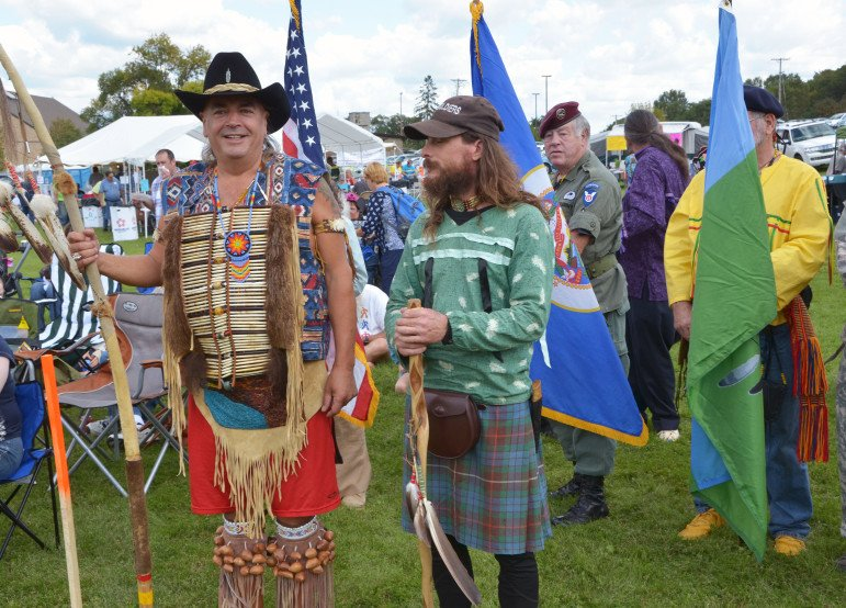 Cultural advisor Jim Anderson and Fool soldier Robert Coldwater