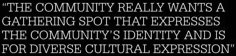 Victoria Theater community identity quote