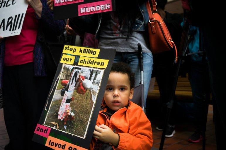 grand jury protest child