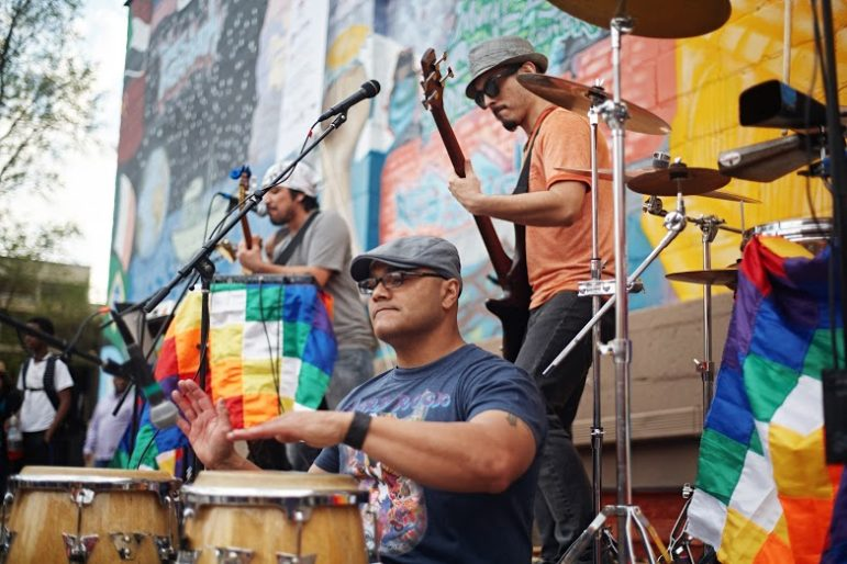 COmmunity Plaza band