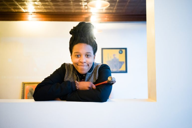Nancy Musinguzi is the creative director for New Rules. Photo by Annabelle Marcovici.