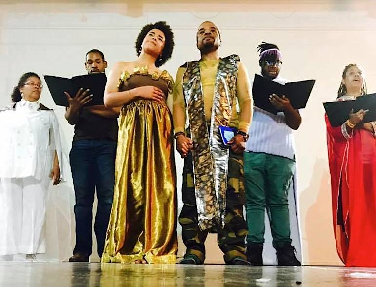 Dameun Strange and Venessa Fuentes create 'Mother King' for Black audiences to see themselves in opera