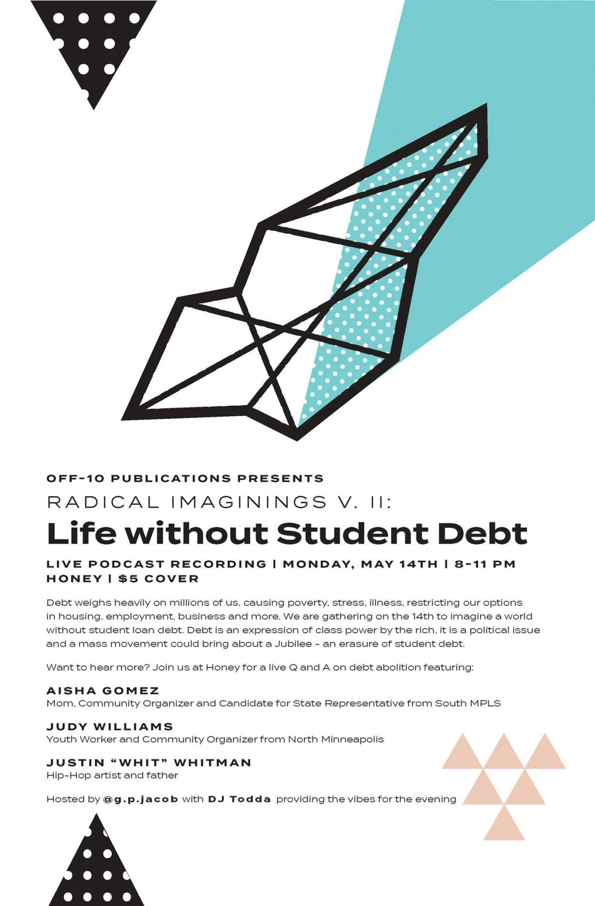 Radical Imaginings Vol 2 Life Without Student Debt