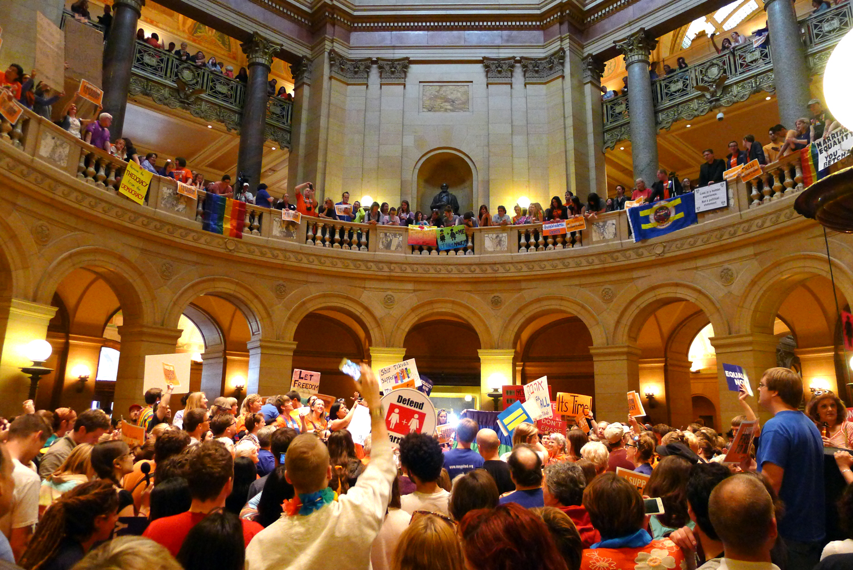 mn senate same sex marriage vote in Belleville