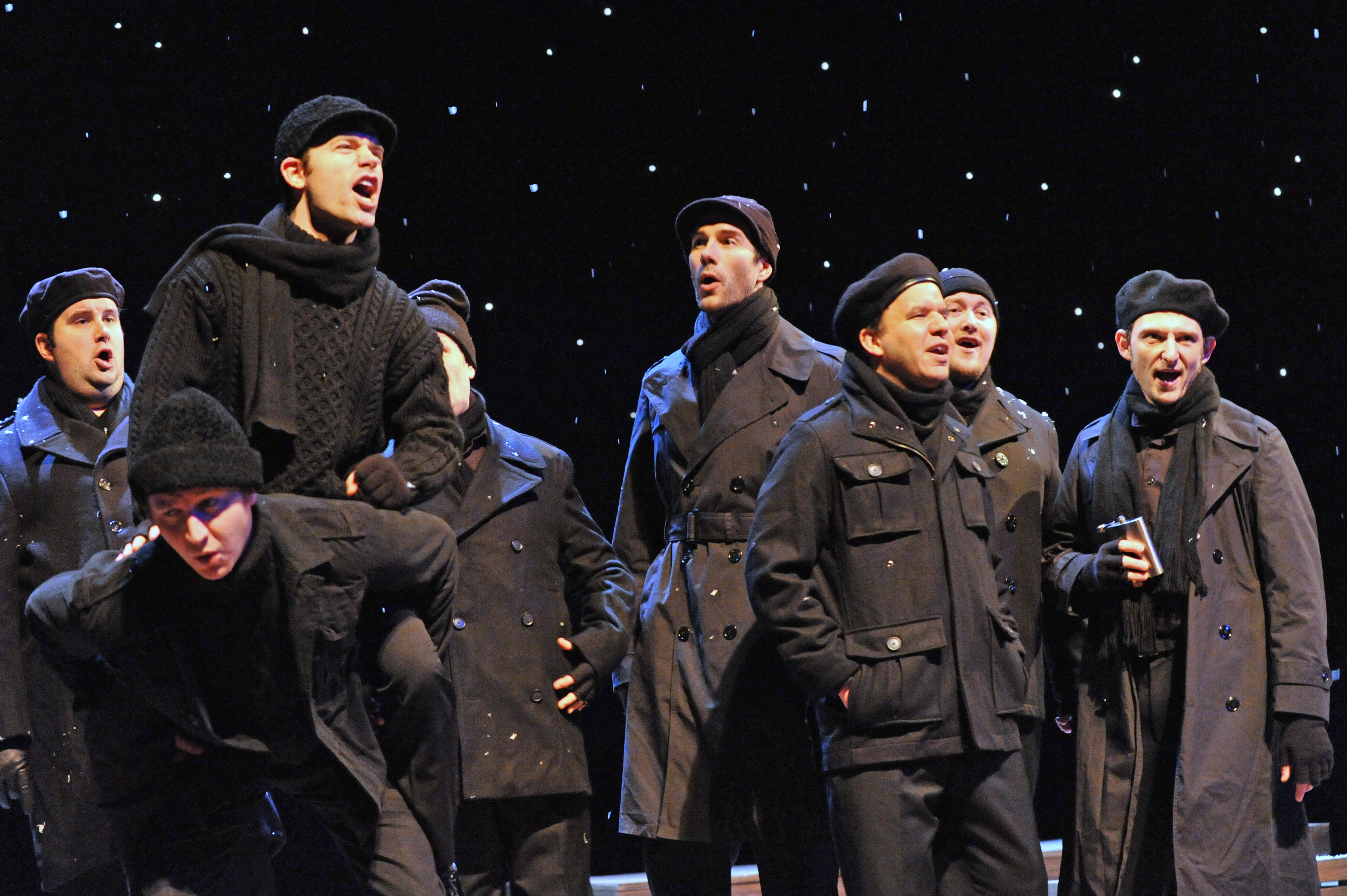 Theater Review All Is Calm The Christmas Truce Of 1914 Finds Peace At Pantages Theatre
