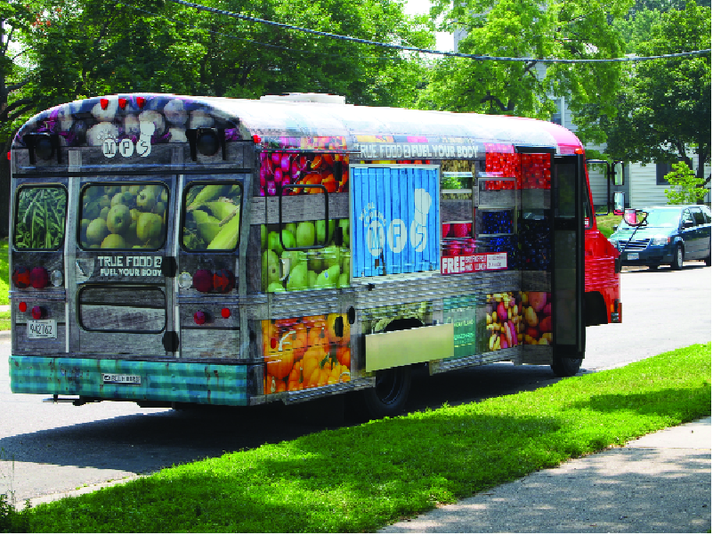 Minneapolis Public Schools Food Truck Promotes Healthy Lunch For All