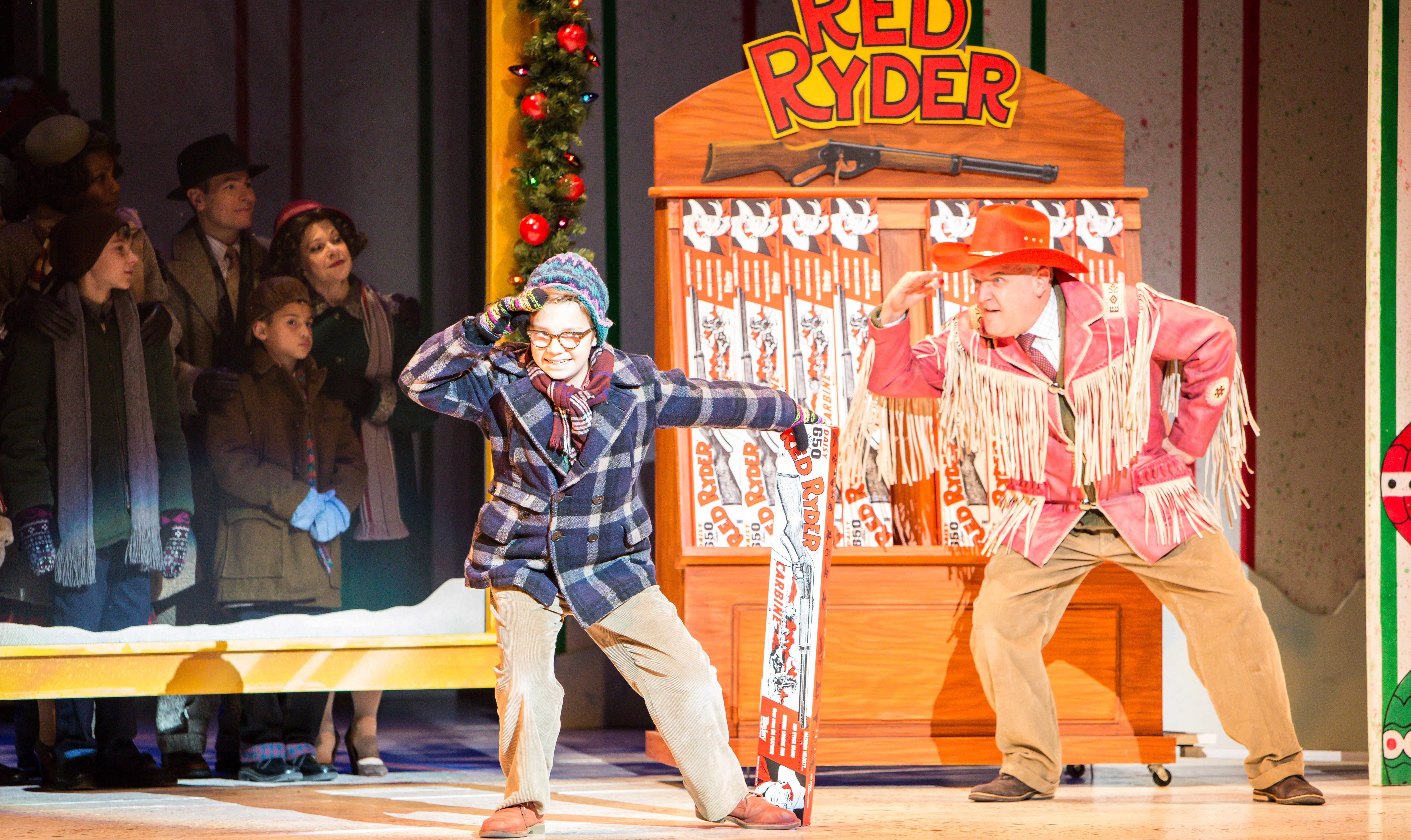 "THEATER REVIEW | Ridiculous humor abounds in Ordway's ""A Christmas ..."