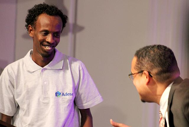 Actor Barkhad Abdi Joins Ellison To Protect Money Transfer System For Somali Community