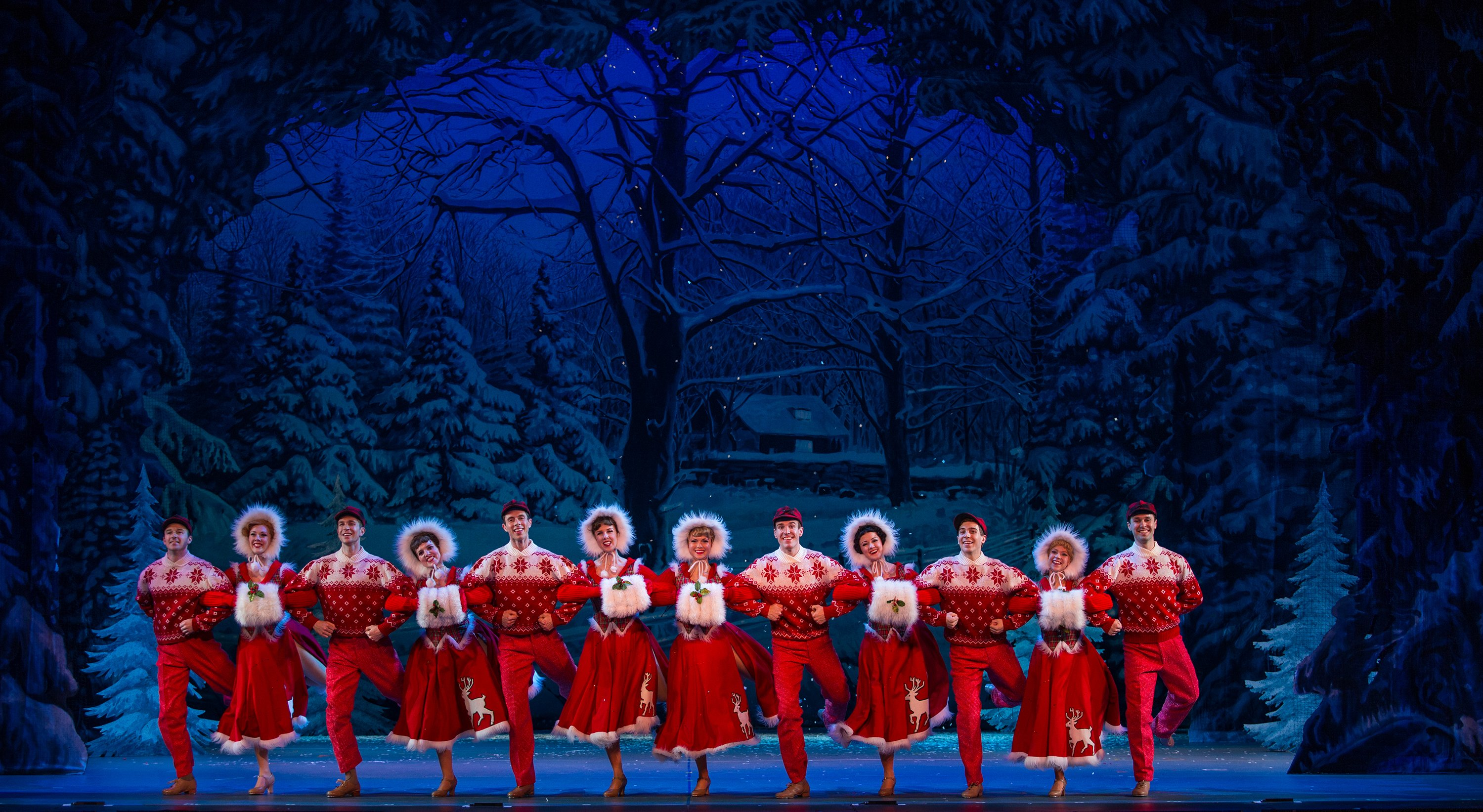 "THEATER REVIEW | ""Irving Berlin's White Christmas"" woos at the ..."