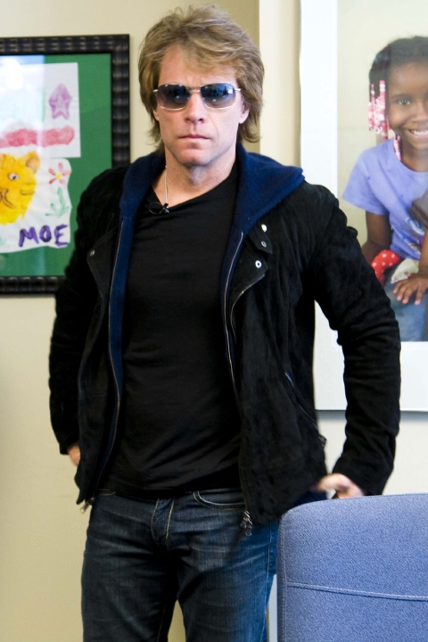"""By far the most remarkable place I've been"""": Jon Bon Jovi"""