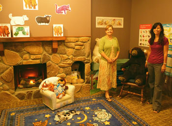 At Right Nancy Shellum And Laurie Erickson Have Moved From St Anthony Park To Como When They Opened The Language Arts Preschool