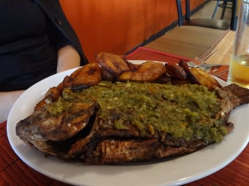 Chic Afrique tilapia with plantains