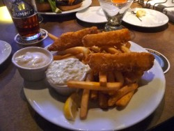 Stanley's fish and chips