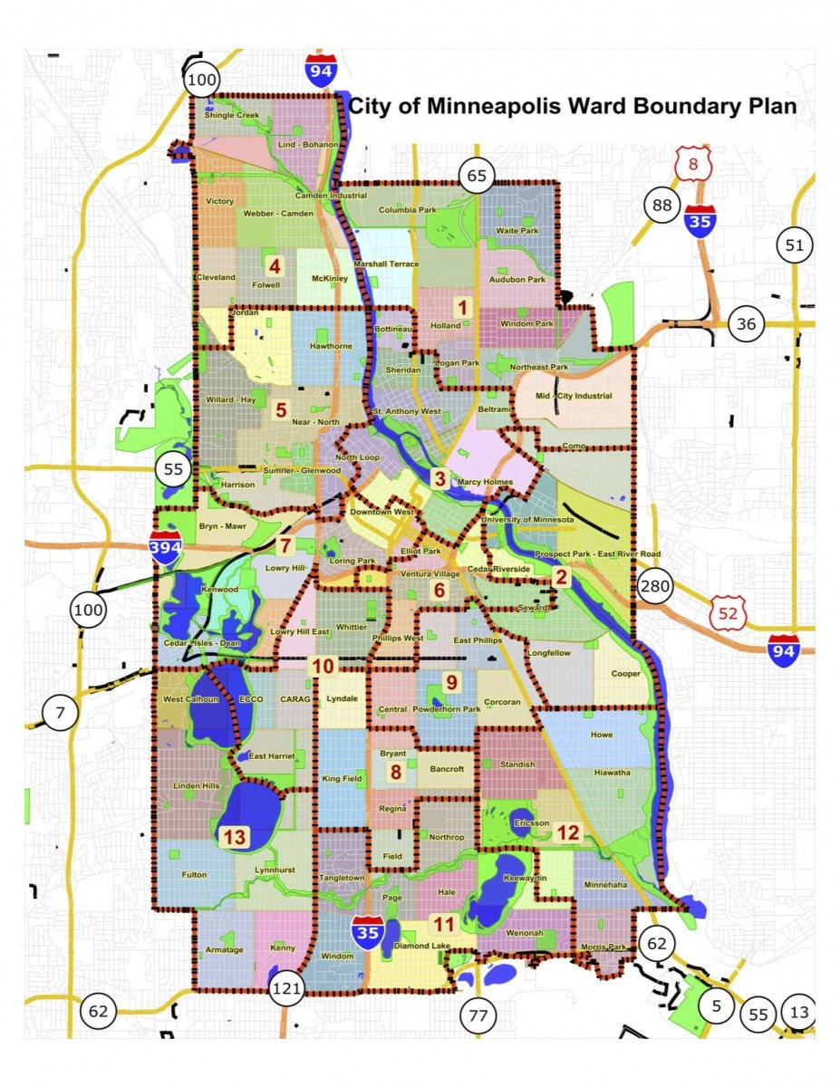 New Minneapolis ward map approved despite criticism | Twin Cities ...