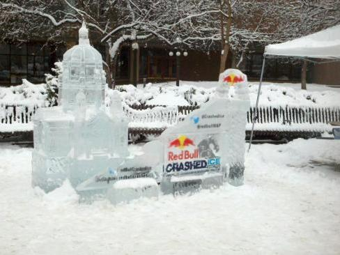 Winter Carnival Ice Sculpture