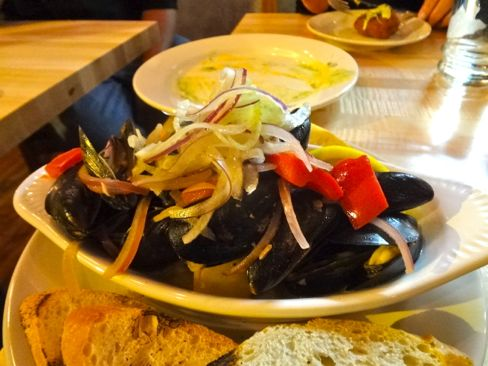 Rincon 38 mussels