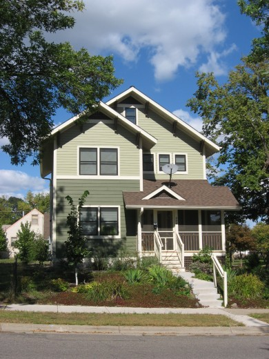 Minneapolis to build 100 green homes on city s north side for Build a home in mn