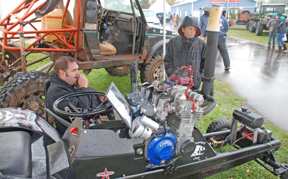Tractor Pulling Motorcycle : Ghosts monsters strange cars and other halloween