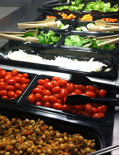 In St  Paul, school lunch now comes with more veggies and