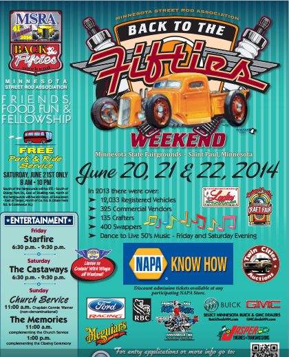 Back To The 50s Car Show, Swedish Heritage Day, GermanFest, Posters And Pints