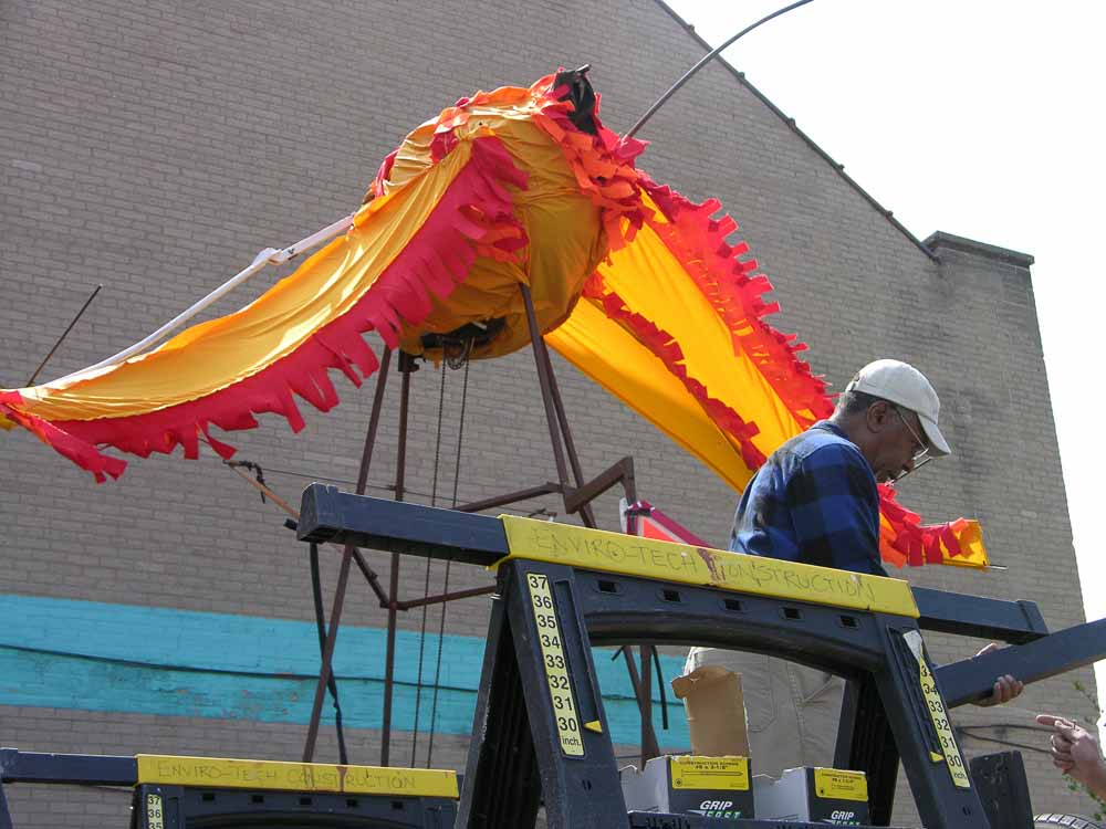 MayDay 2015 firebird float