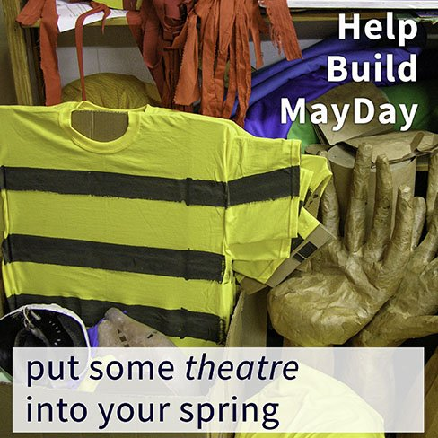 MayDay making bee costume