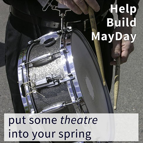 MayDay parading snare drum