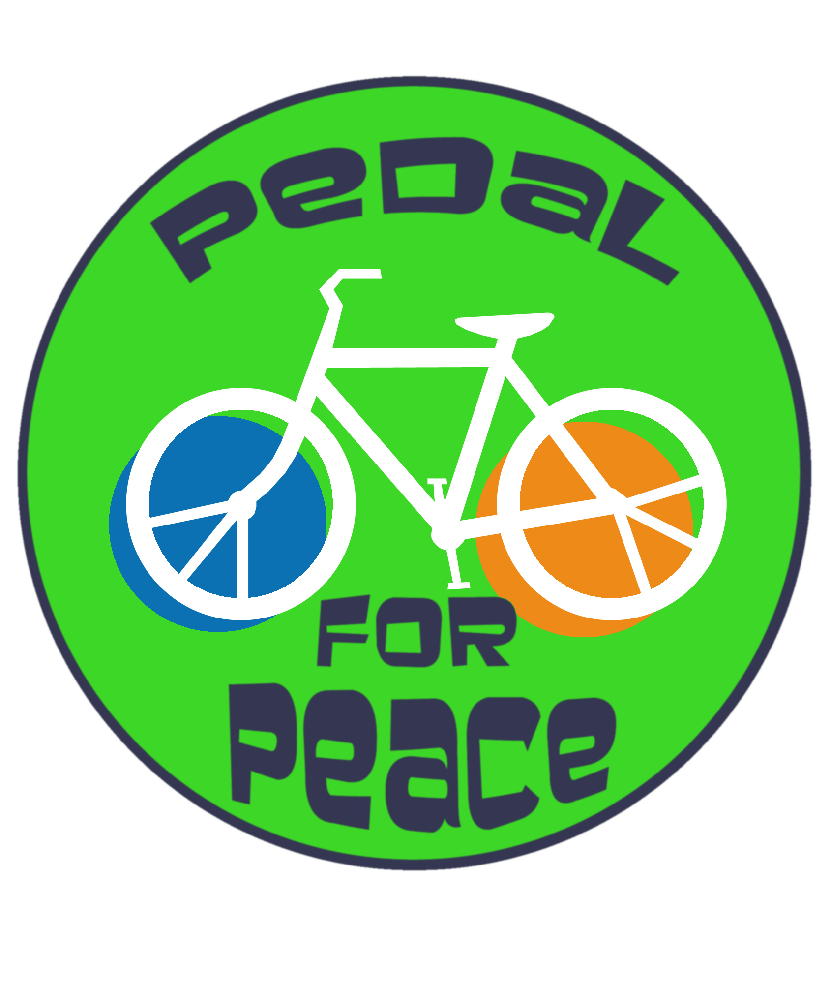 Free Speech Zone Pedal For Peace Supports Unarmed Civilian